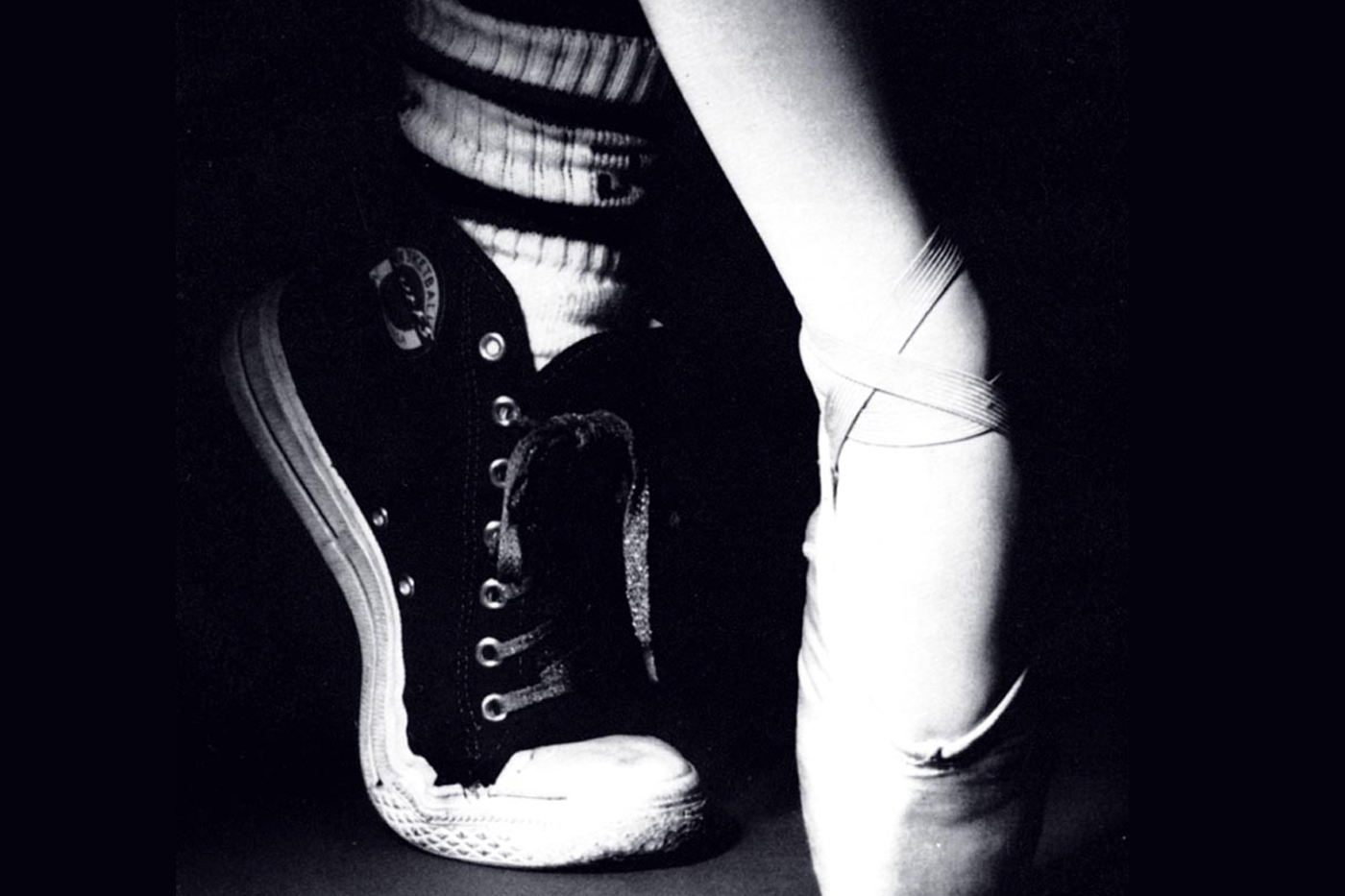 Black And White Dance Shoe Photography